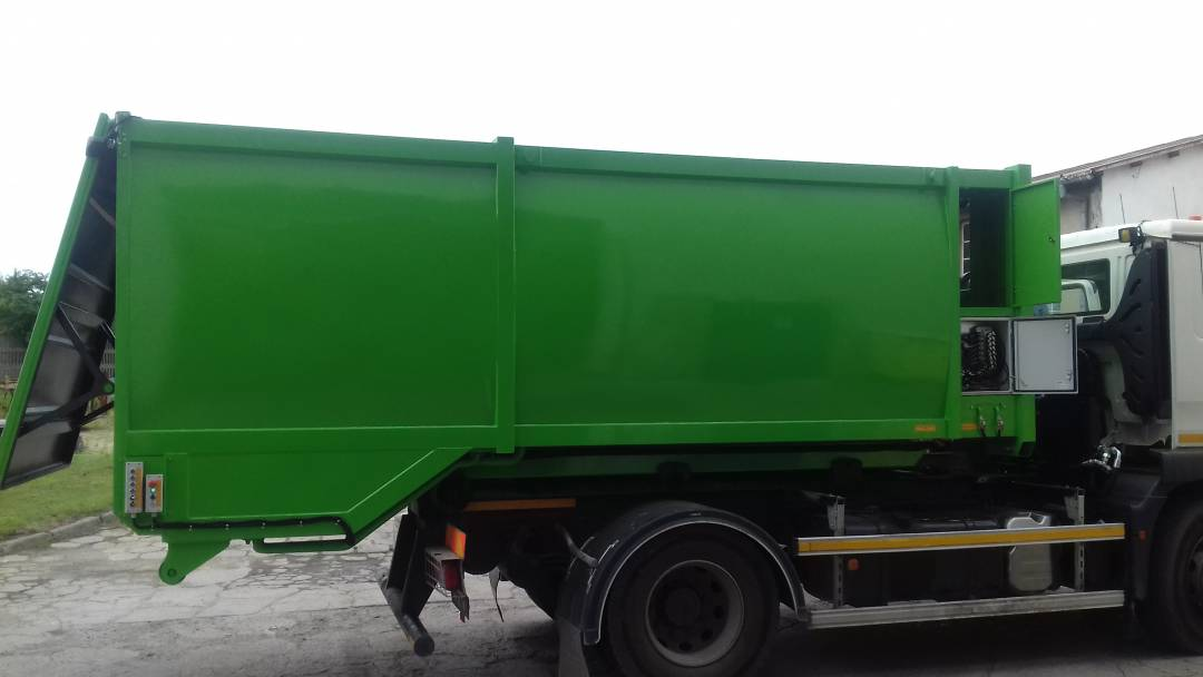 Myjka pojemników kontenerowa
