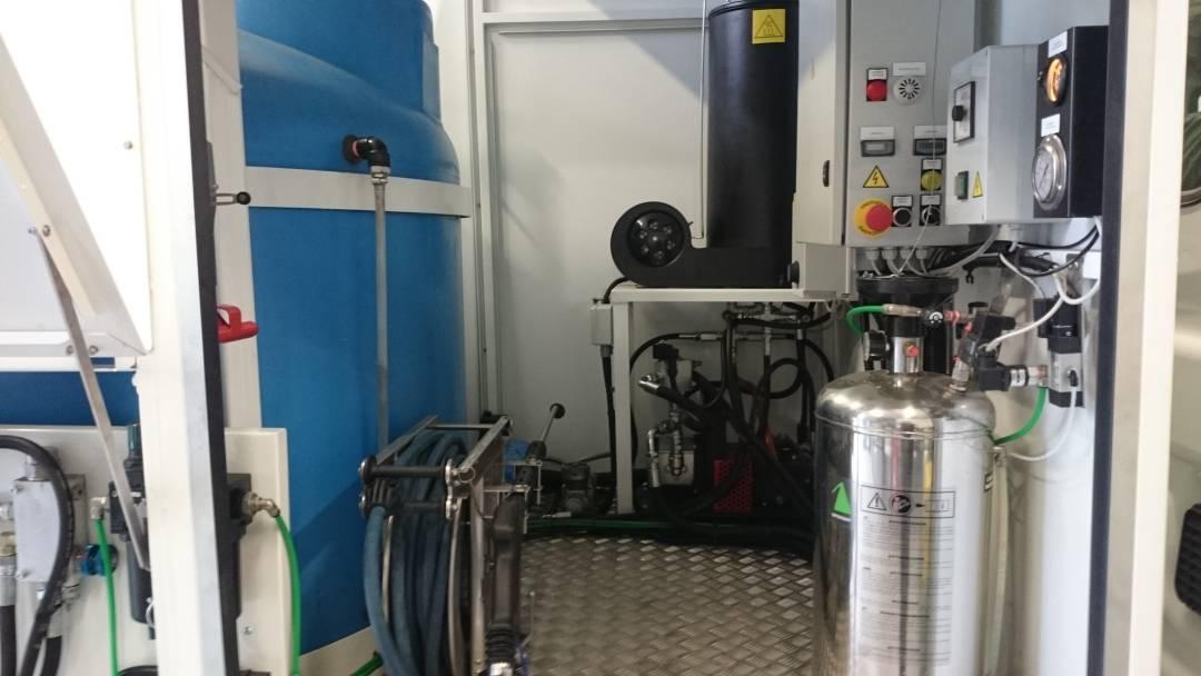 dezynfekcja pojemników kubłów mobilna