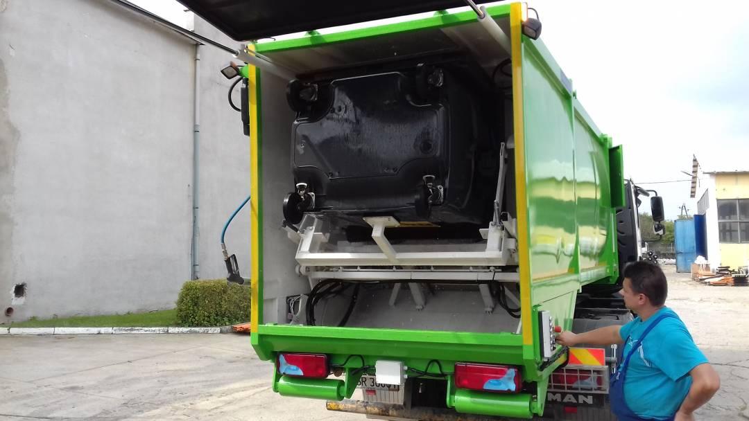 mycie 120 1100 litrów dezynfekcja