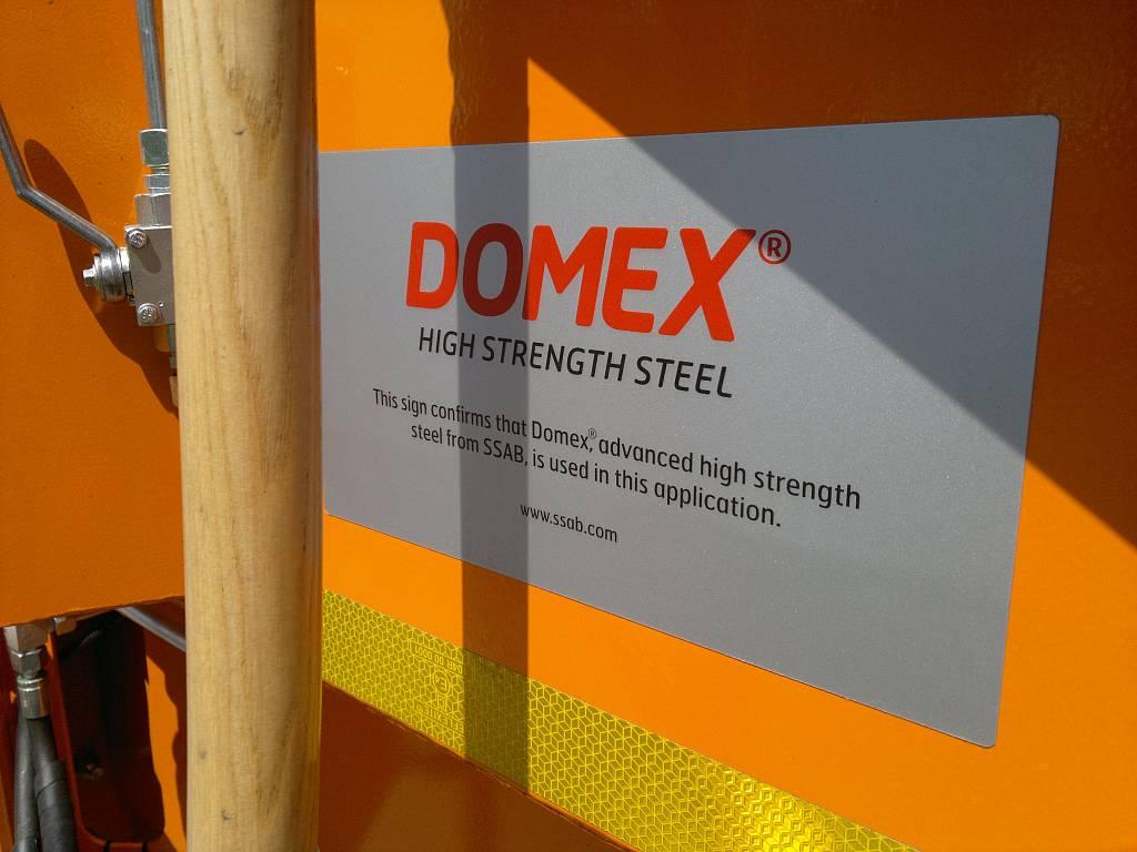 śmieciarka domex-hardox