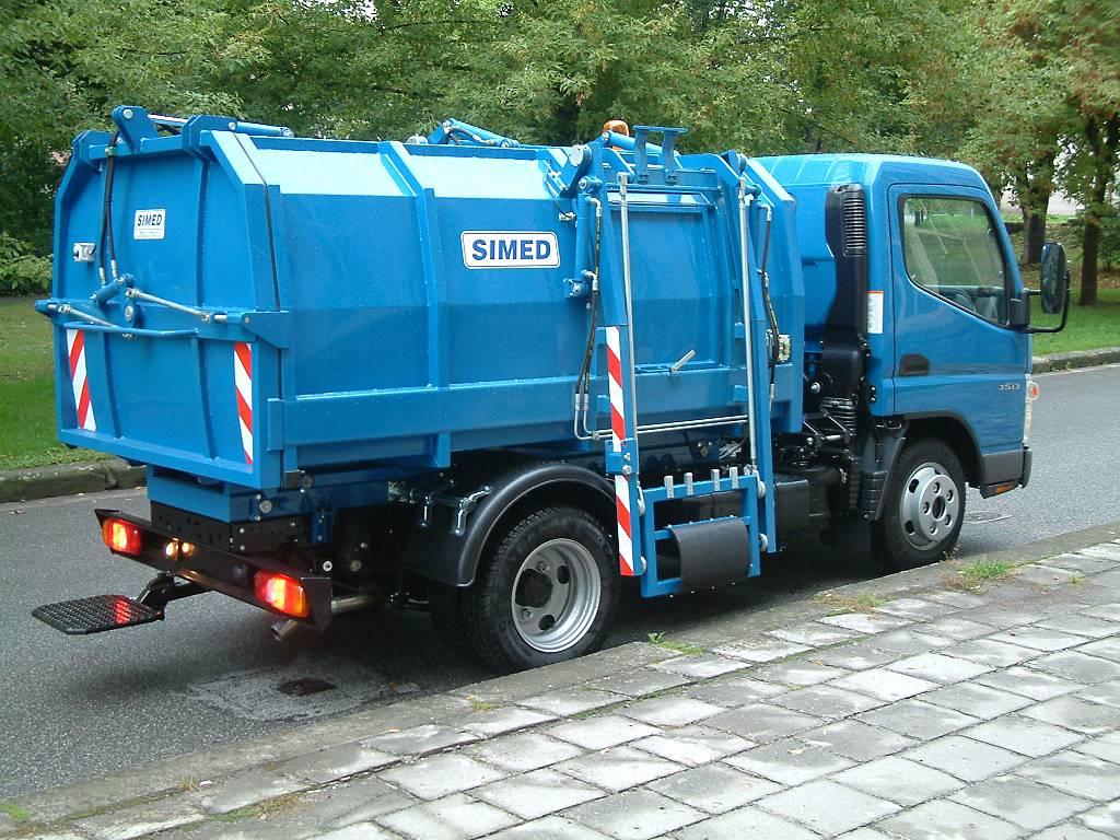 śmieciarka kompaktowa 7 m3