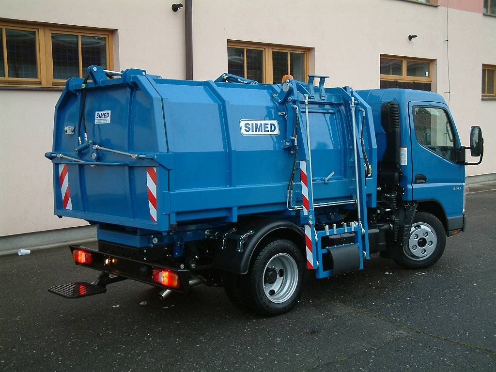 śmieciarka konterowa 7 ton