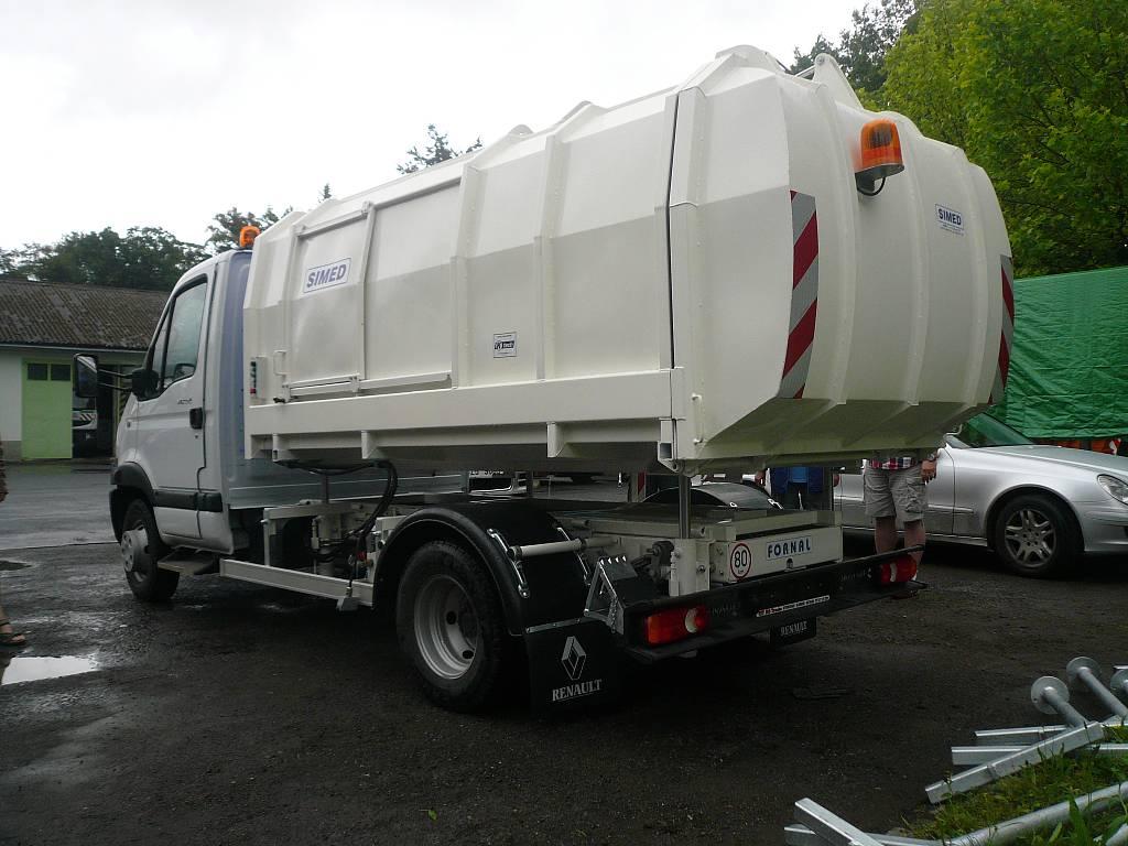 śmieciarki 8 ton